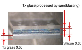 Anodic bonding of glass to silicon