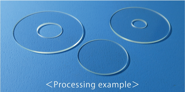 Processing example